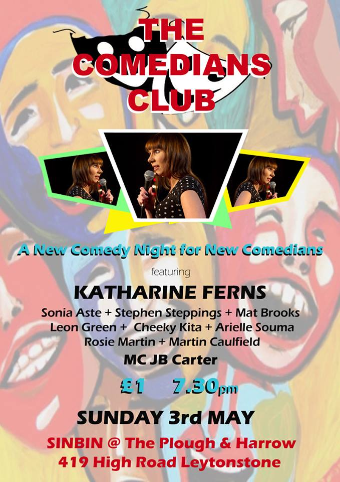 comedians club poster